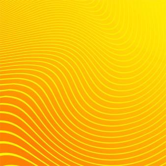 Impression de fond lignes modernes rayures orange