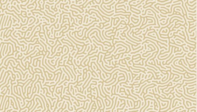 Impression de fond de lignes organiques naturelles