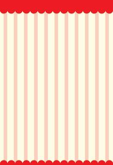 Impression de fond rayures verticales rouges