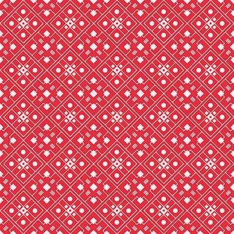 Impression de fond sans couture de batik géométrique. fond d'écran abstrait