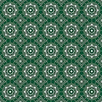 Impression de fond sans couture de batik géométrique.