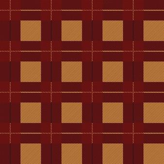 Impression de fond sans couture tartan. plaid aux couleurs d'automne, motifs de chemise en flanelle tartan. tuiles à la mode illustration vectorielle pour papier peint.