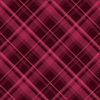 Impression de fond tartan sans couture à carreaux. texture textile. illustration vectorielle.