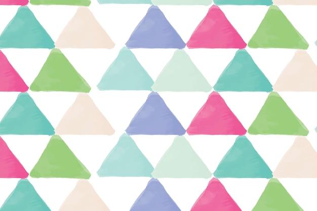 Impression de fond transparente géométrique colorée