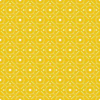 Impression De Fond Transparente Géométrique Moderne. Papier Peint Batik Classique. Vecteur Premium