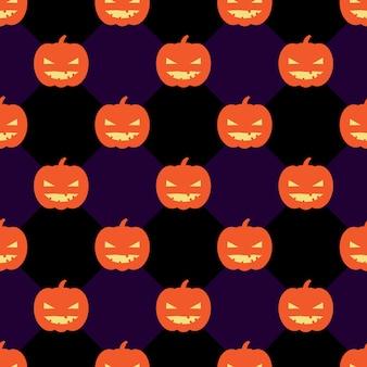 Impression de fond transparente halloween avec des citrouilles