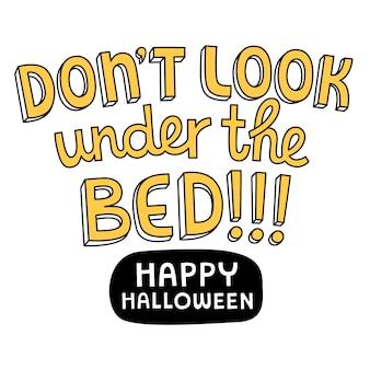 Impression d'halloween.