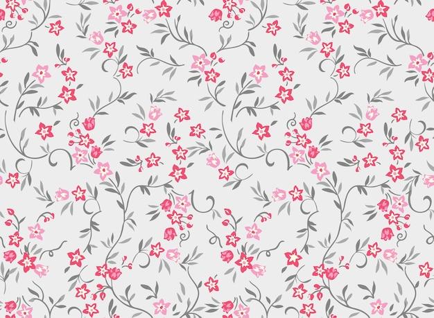 Impression de motif de mode fleur