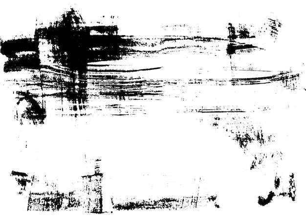 Impression de texture d'encre brossée urbaine grunge à la main impression vintage abstraite