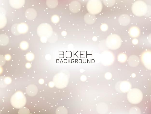 Impressionnant fond de bokeh élégant