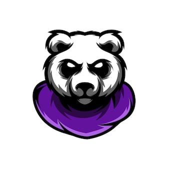 Impressionnant mascotte panda