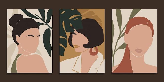 impressions d'art moderne dans un style bohème.