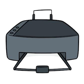 Imprimante de dessin animé