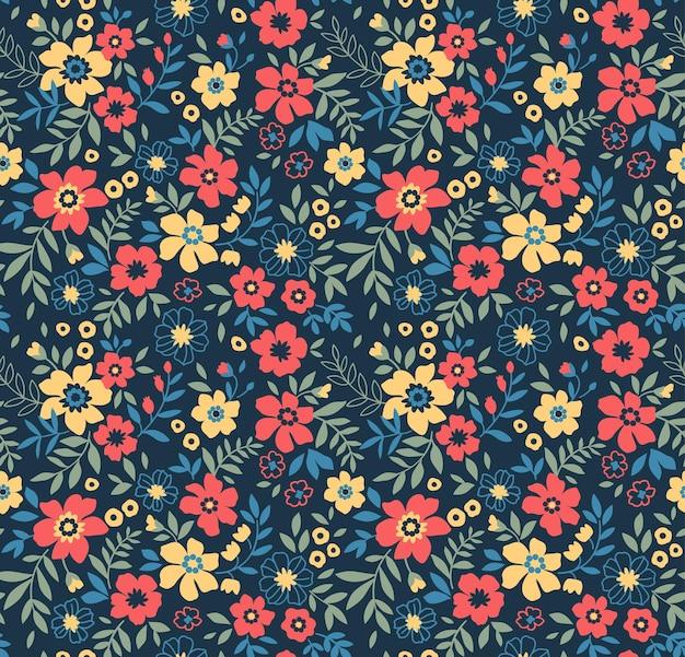 Imprimé de fleurs de printemps