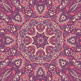 Imprimé géométrique ethnique. texture de fond répétitif coloré.