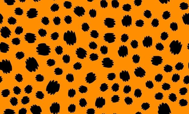 Imprimé léopard. motif de peau d'animal. modèle de conception sans couture.