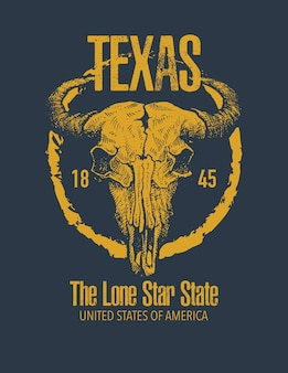 Imprimé t-shirt texas buffalo