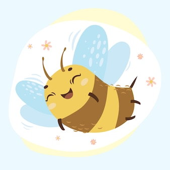 Imprimer abeille mignonne