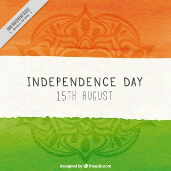Inde indépendance drapeau
