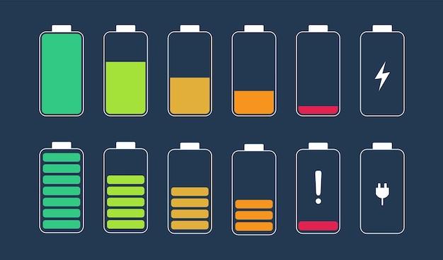 Indicateur de charge de la batterie