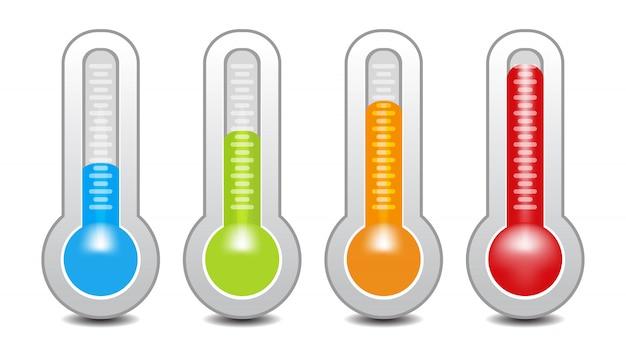 Indicateur de température utilisé dans la grille de cuisson avec l'équipement