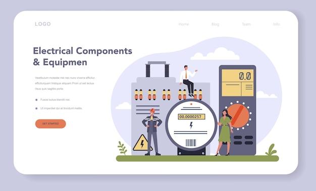Industrie des composants et équipements électriques