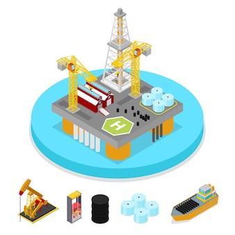 Industrie isométrique du gaz et du pétrole