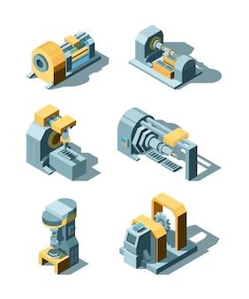 Industrie lourde. machines d'usine d'ingénierie de production de métaux en ligne