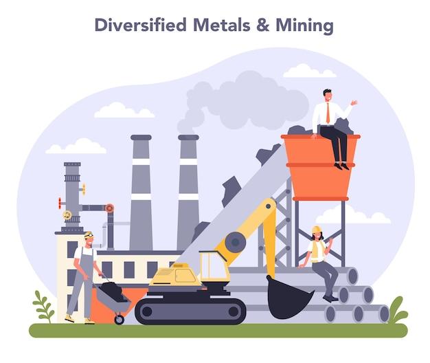 Industrie des métaux non ferreux et des mines