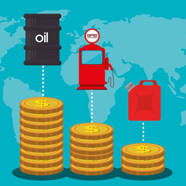 Industrie pétrolière et prix du pétrole