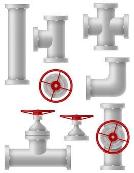 Industrie des tuyaux métalliques.