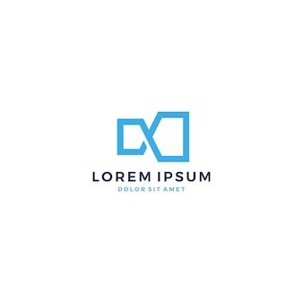 Infini logo mobius infini vector illustration icône