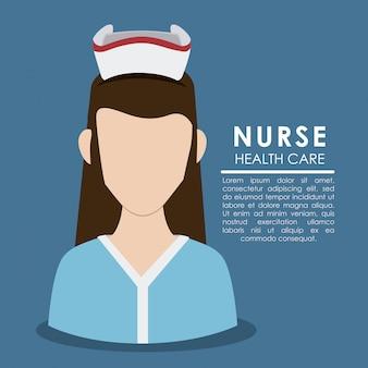 Infirmière femme