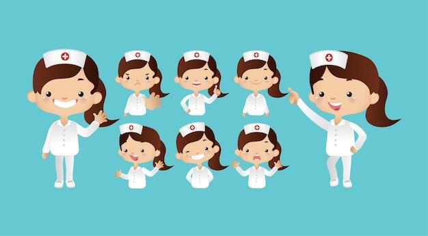 Infirmière mignonne