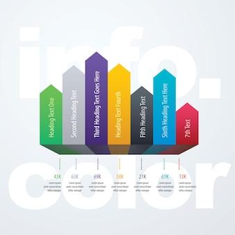 Infographie en 7 étapes