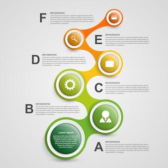 Infographie abstraite sous forme de métabolisme.