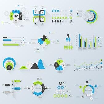 Infographie d'affaires