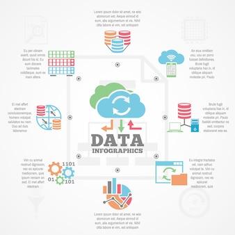 Infographie d'analyse de données