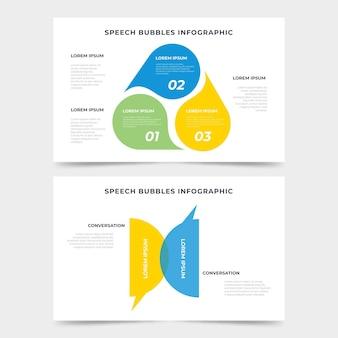 Infographie de bulles