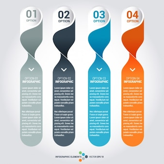 Infographie element set templates