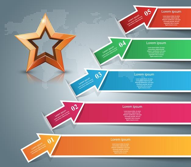 Infographie d'entreprise.