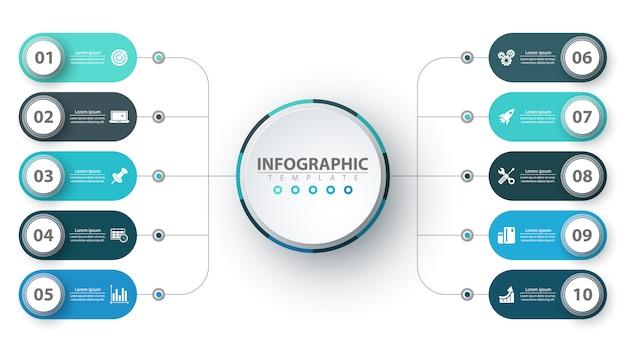 Infographie de l'entreprise