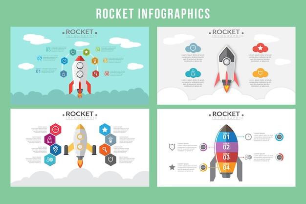 Infographie de fusée