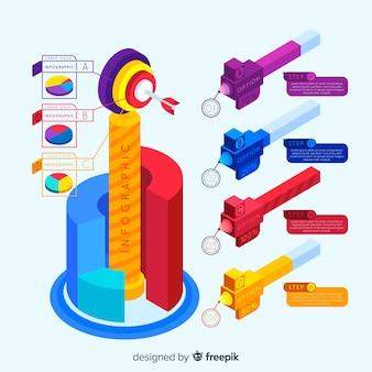 Infographie isométrique