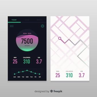 Infographie pour une application mobile