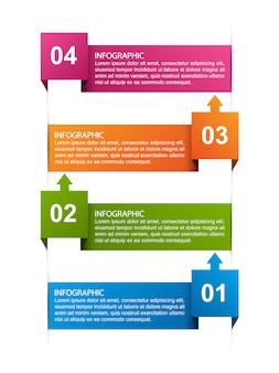 Infographie pour présentations commerciales ou bannière d'information.