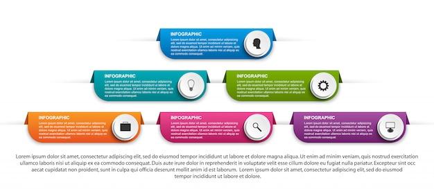Infographie pour les présentations d'entreprises.