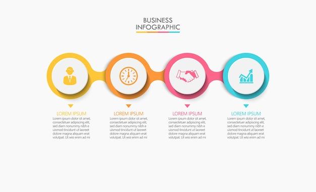 Infographie de présentation commerciale