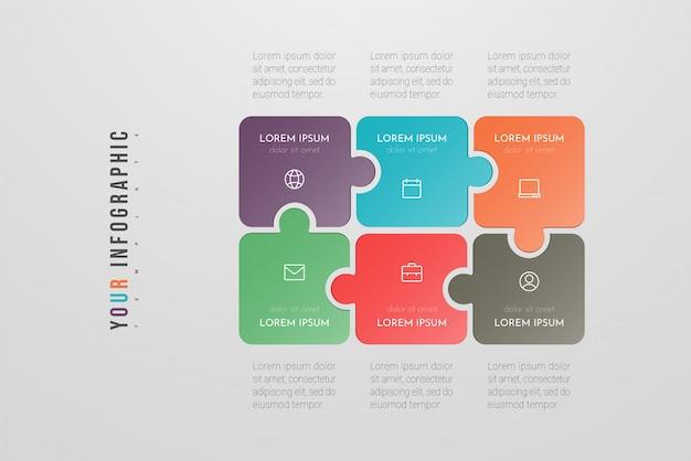 Infographie: rapport, organigrammes, diagramme, présentation
