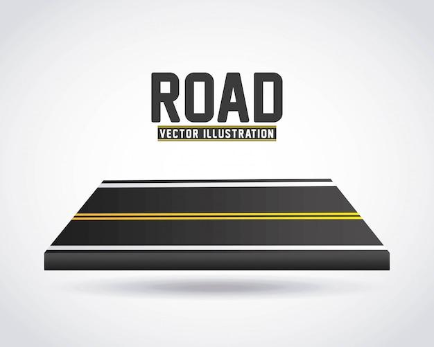 Infographie de route